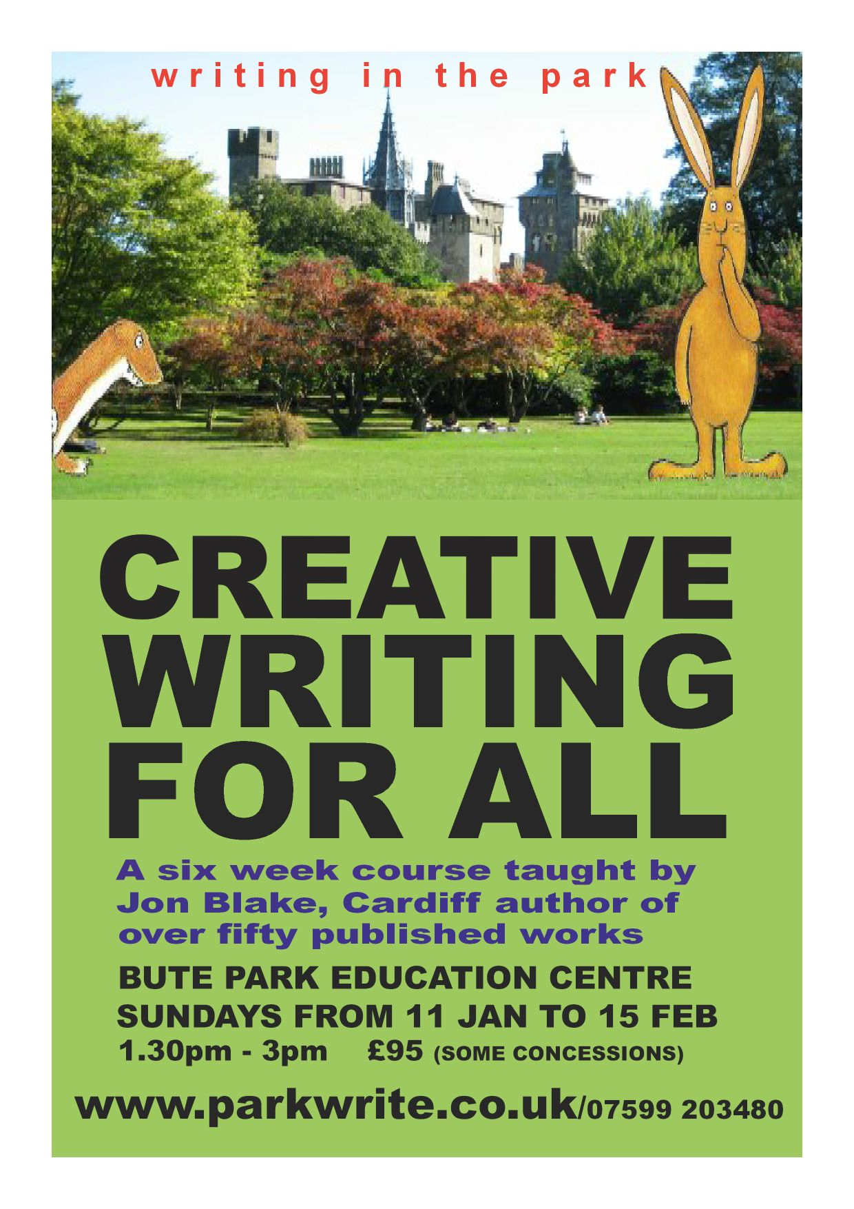 Creative writing help london university